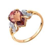 Золотое кольцо с топазами НЮ10202010724