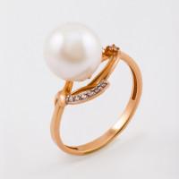 Золотое кольцо с жемчугом ФЖ31050.1