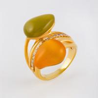 Серебряное кольцо с кварцем СЙРИЦ268-27