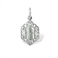 Серебряная мечеть с фианитами ЮП1310010406
