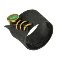 Серебряное кольцо с сваровски ПВР-0210Бзл
