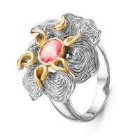 Серебряное кольцо с сваровски ПВР0126рз