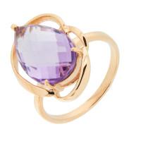 Золотое кольцо с аметистами ГС1344030