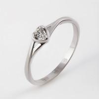 Золотое кольцо с бриллиантом ЮИК210-1025