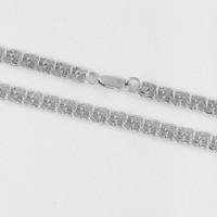 Серебряная цепочка 2БЦС9-080.25 мужская