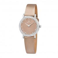 Серебряные часы с фианитами НИ0102.2.9.91A