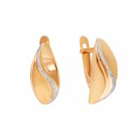 Золотые серьги 7А21608
