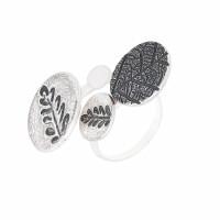 Серебряное кольцо ИЬ91444