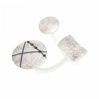 Серебряное кольцо с фианитами ИЬК1-3ЛКР