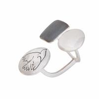Серебряное кольцо ИЬ903374