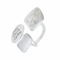 Серебряное кольцо ИЬ90337-04