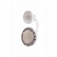 Серебряные серьги полупара ИЬ90457093 без вставок камней