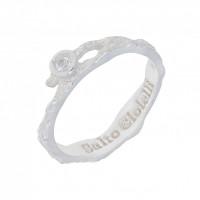 Серебряное кольцо с фианитами ИЬ9081032