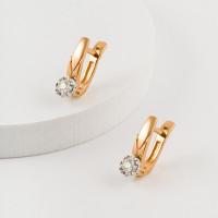 Золотые серьги с бриллиантами ЮЗ2-11-0920-101