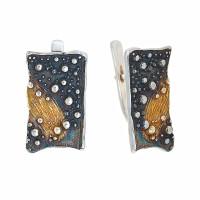 Серебряные серьги ИЬ91253 без вставок камней