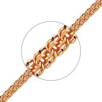 Золотая цепочка ТЗЦПГР00512060 плетение Гарибальди