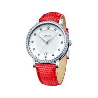 Серебряные часы с фианитами ДИ102.30.00.001.04.03.2