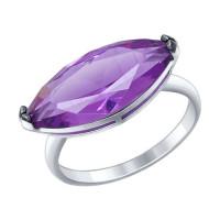 Серебряное кольцо с наноситалами