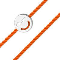 Серебряный браслет красная нить детский ЮП1400010954