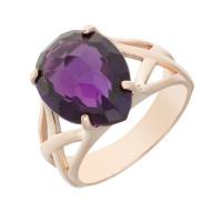 Золотое кольцо с кварцем КСК14-10120