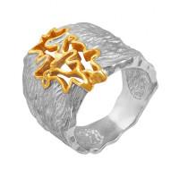Серебряное кольцо ПВР-0184