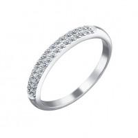 Золотое кольцо с бриллиантами ДИ1010130