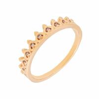 Золотое кольцо с фианитами 2Т3715340