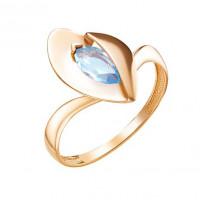 Золотое кольцо с топазами ЮИК120-5059тг