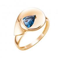 Золотое кольцо с топазами ЮИК124-5060тл