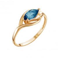 Золотое кольцо с топазами ЮИК120-4484тл