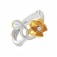 Серебряное кольцо с фианитами ИАС13420Ж