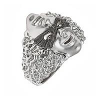 Серебряное кольцо с фианитами ИАС11660