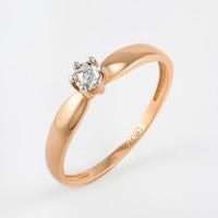 Золотое кольцо с бриллиантом ЛХ01-01370-02-001-02-01