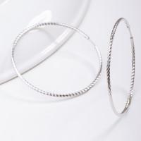 Серебряные серьги конго ДИ94140018