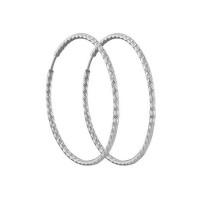 Серебряные серьги конго ДИ94140030