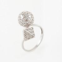 Серебряное кольцо ЮХШК04