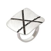 Серебряное кольцо ИЬ902146