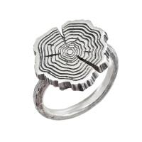 Серебряное кольцо ИЬ925140 без вставок