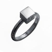 Серебряное кольцо ИЬ923144 без вставок