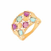 Золотое кольцо с ситалом ДП312539