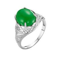 Серебряное кольцо с агатами РОК-3560РК409