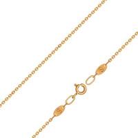Золотая цепочка ДИ581030408 якорное плетение