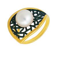 Серебряное кольцо с жемчугом ФЖ51842Я1З