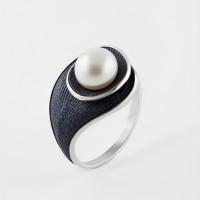 Серебряное кольцо с жемчугом ФЖ51827С1У