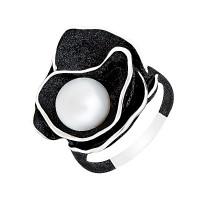 Серебряное кольцо с жемчугом ФЖ51270С1Б