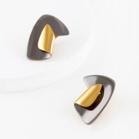 Серебряные серьги ДП221546ПЗЖС без вставок камней