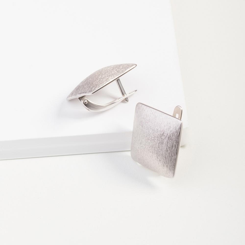 Серебряные серьги ДП221825С