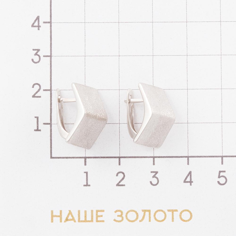 Серебряные серьги ДП221822С