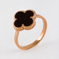 Золотое кольцо с ониксами