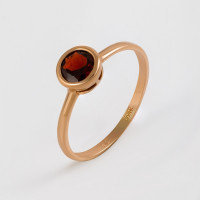 Золотое кольцо с гранатами МБ01-1-677-0300-010